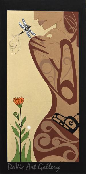 Dragonfly by Francis Dick 2010 - Northwest Coast - Kwakwaka'wakw