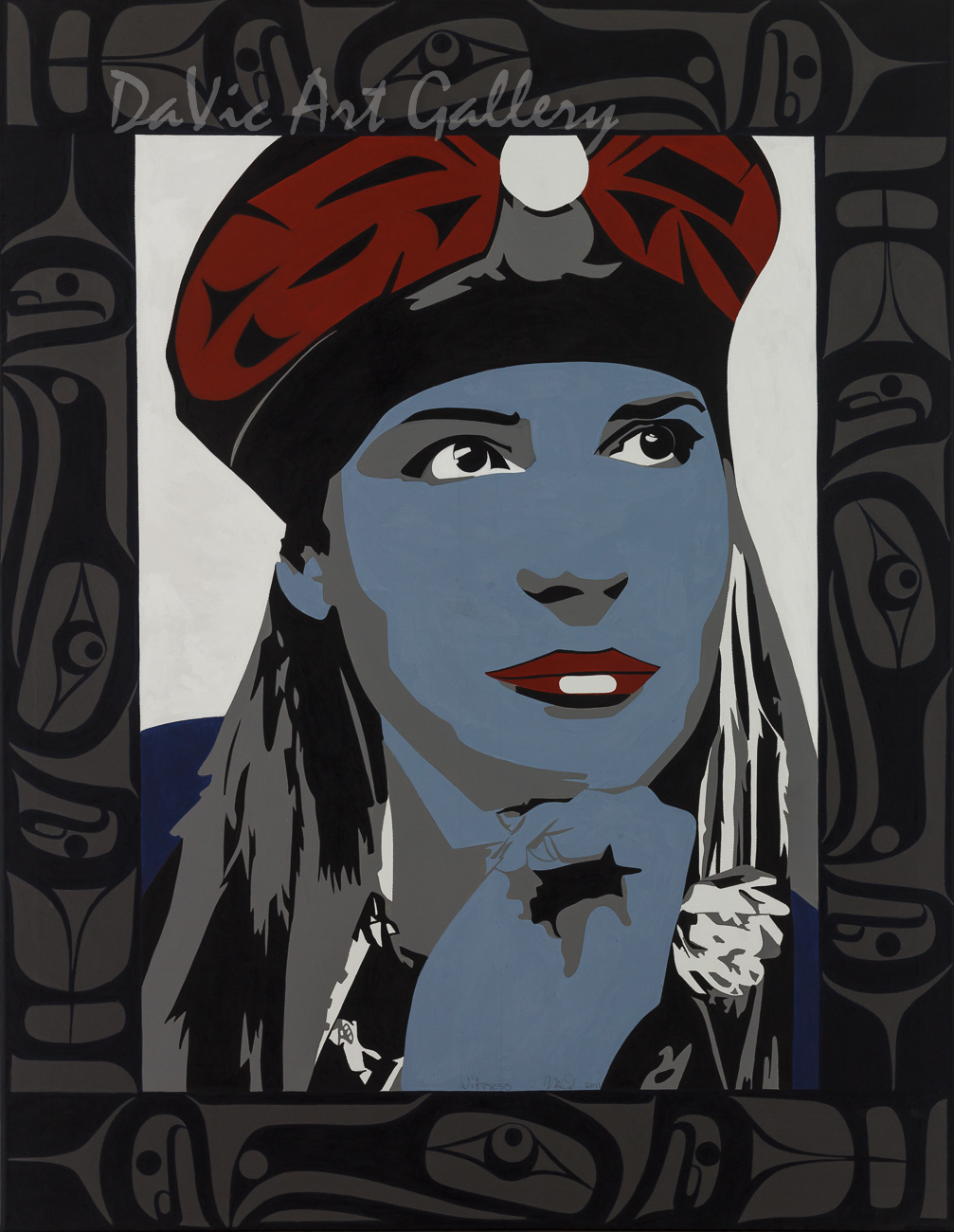 Witness by Francis Dick 2011 - Northwest Coast - Kwakwaka'wakw
