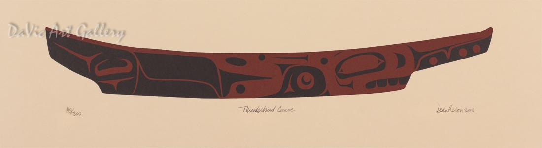 'Thunderbird Canoe' by Dean Heron