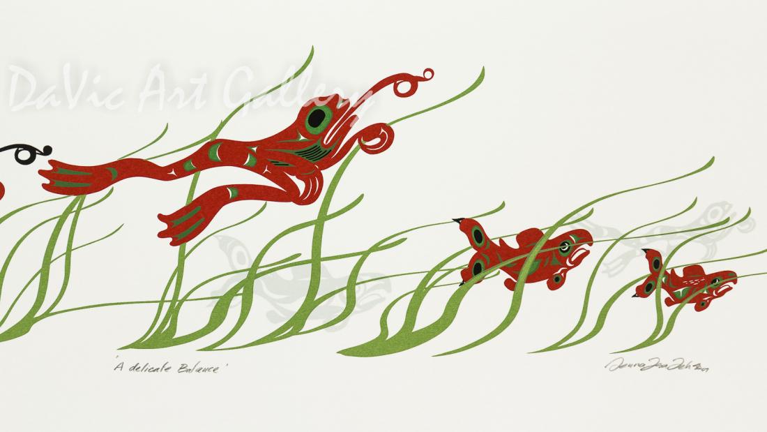 'A Delicate Balance' by Mark Preston - Northwest Coast - Tlingit 2007