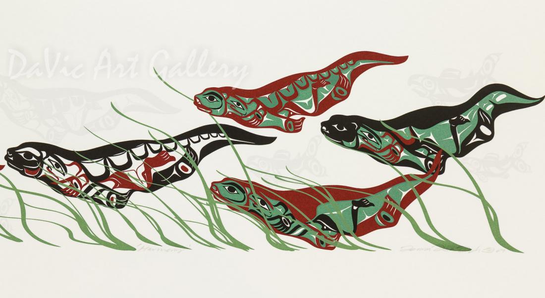 'Harmony' by Mark Preston - Northwest Coast - Tlingit 2007