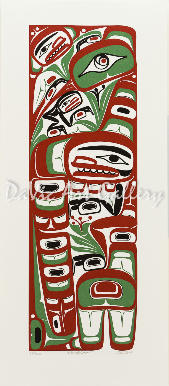 'Sandpiper' by Mark Preston - Northwest Coast - Tlingit 2008