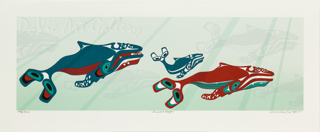 'Ancient Songs' by Mark Preston - Northwest Coast | Native Canadian Arts