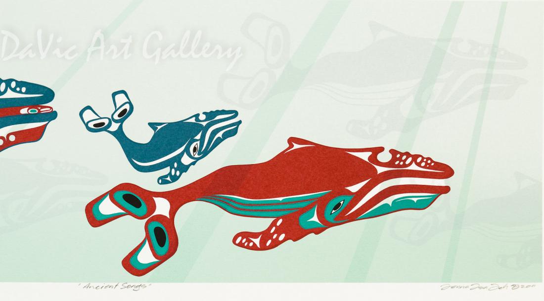 'Ancient Songs' by Mark Preston - Northwest Coast   Native Canadian Arts