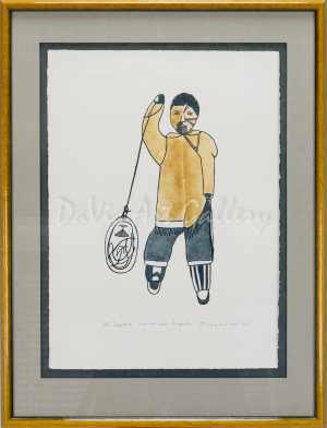 """""""Iyuqsaut"""" by Lydia Jaypody - Inuit - Clyde River 1983"""