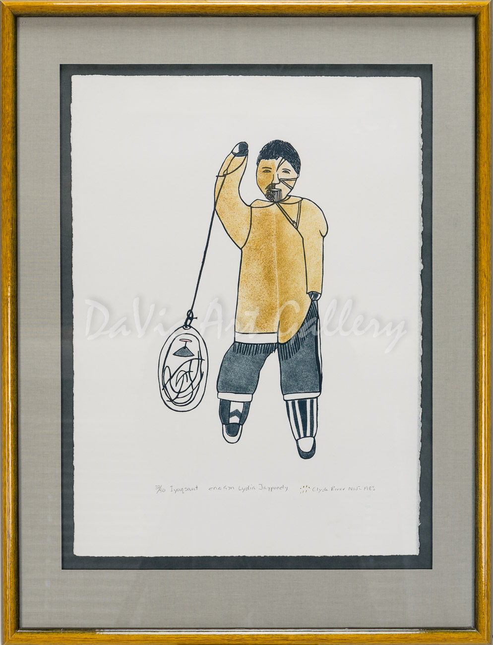 """Iyuqsaut"" by Lydia Jaypody - Inuit - Clyde River 1983"
