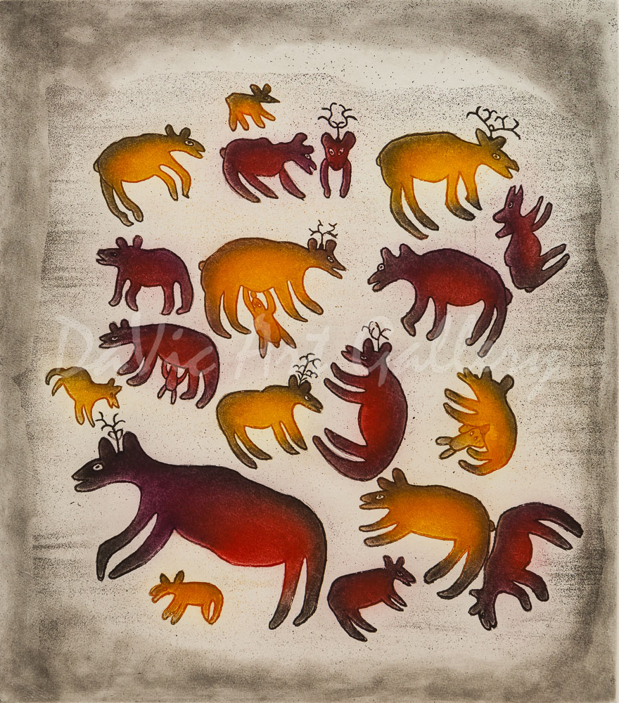 'Nugirurqvik (Fawning Grounds)' by Meelia Kelly