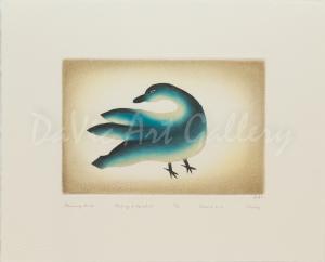 'Preening Bird' by Ohotaq Mikkigak