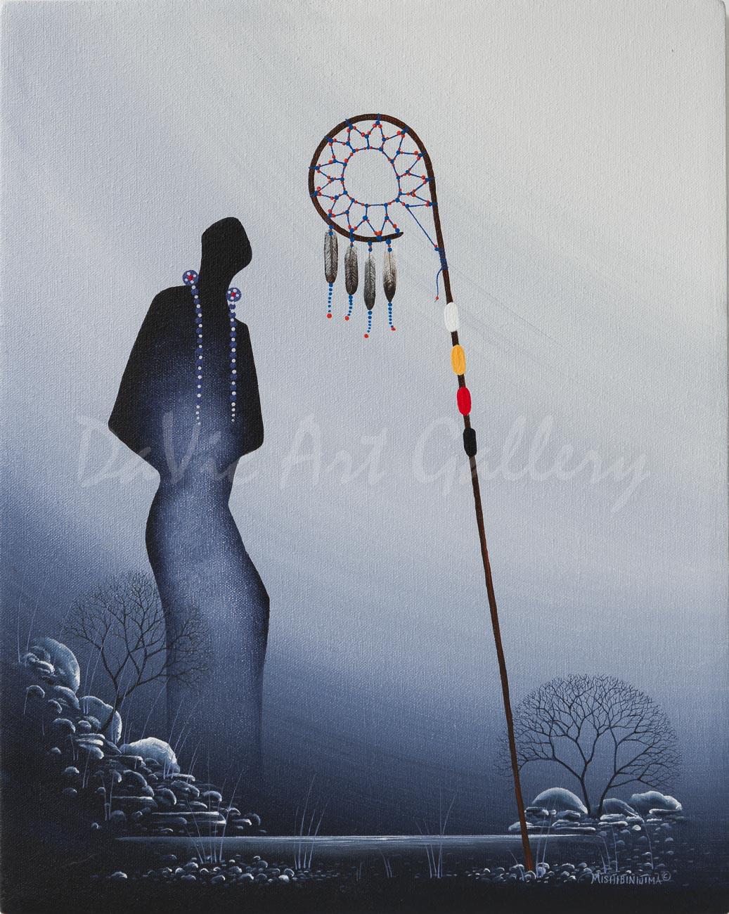 'Respect' by First Nations Ojibway artist James Simon Mishibinijima