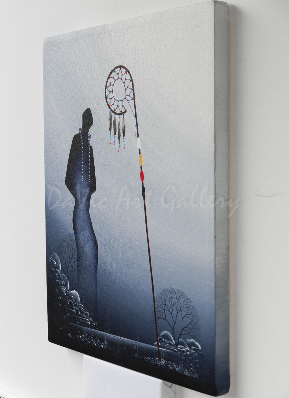 'Respect' by James Simon Mishibinijima - Woodland Art - Seven Grandfathers
