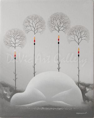 'Sacred Ground' by First Nations Ojibway artist James Simon Mishibinijima