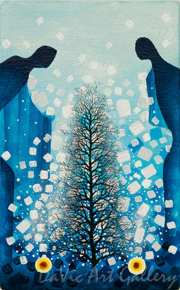 'Tree of Life' by First Nations Ojibway artist James Simon Mishibinijima