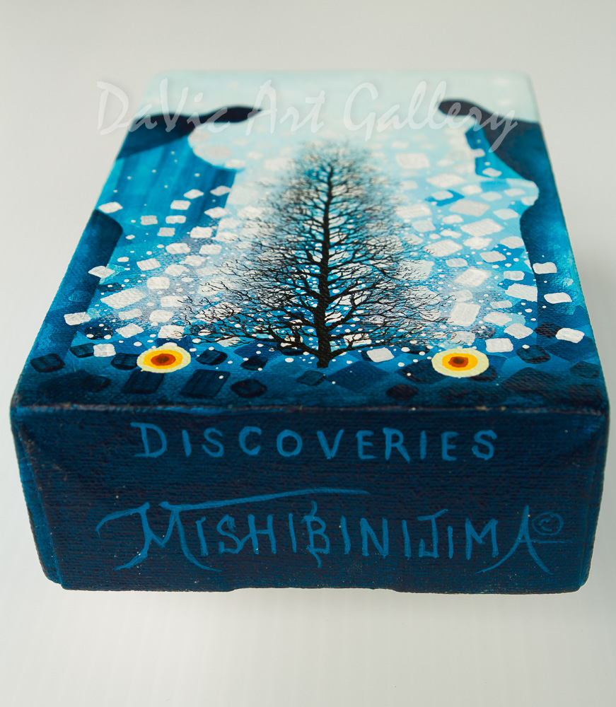 'Tree of Life' by James Simon Mishibinijima - Woodland Art - Tabletops