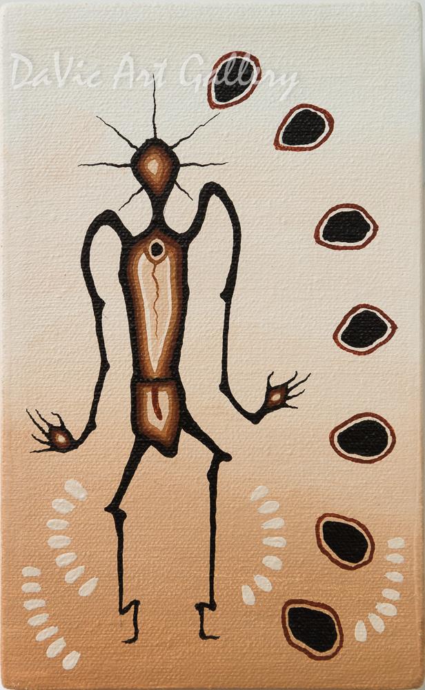 'Understandings' by First Nations Ojibway artist James Simon Mishibinijima