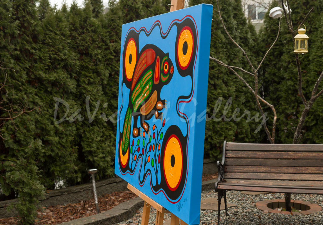 'Amik Beaver' by First Nations Algonquin artist Frank Polson