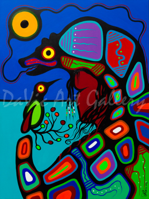 'Bear Clan' by First Nations Algonquin artist Frank Polson