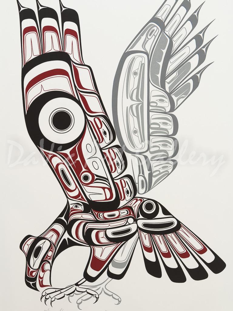 'Silent Flight' by Terry Starr - Northwest Coast Art Tsimshian artist