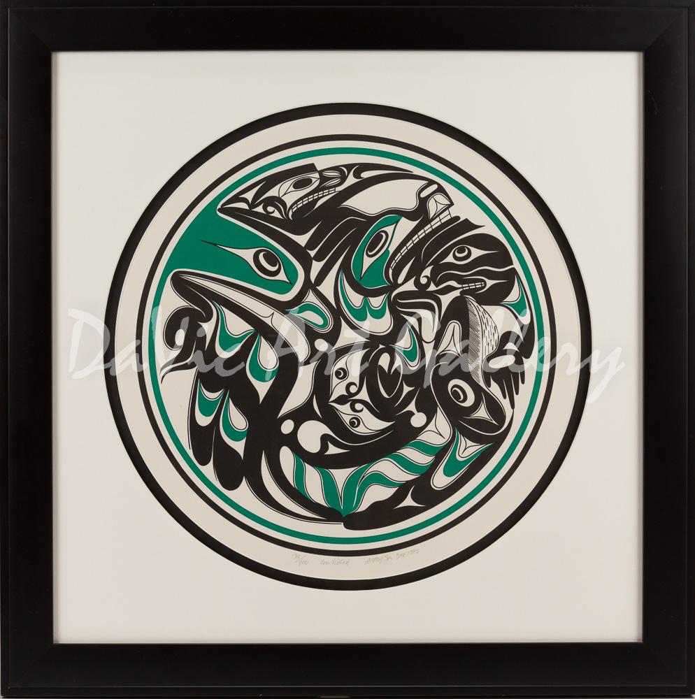 'Untitled' by Art Thompson - Northwest Coast Nuu-chah-nulth Art