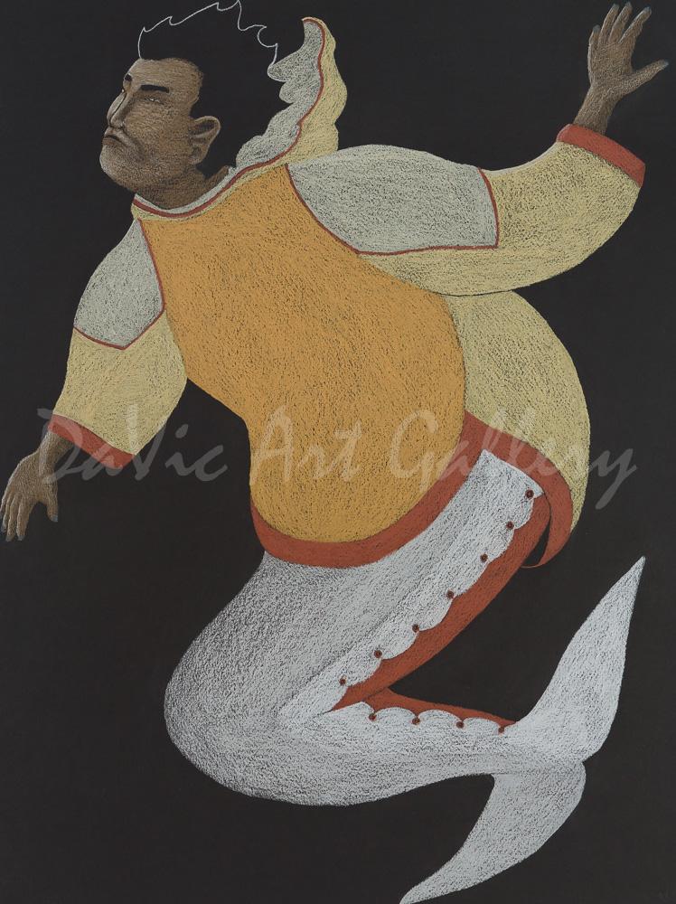 'Beluga Transformation' by Tim Pitsiulak - Cape Dorset 2014