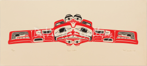 'Bear Mother' by Reg Davidson - Northwest Coast Haida Art