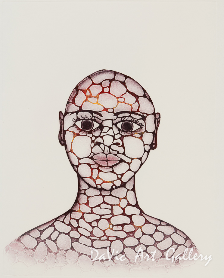 'Pebble Woman' by Padloo Samayualie- Cape Dorset 2018