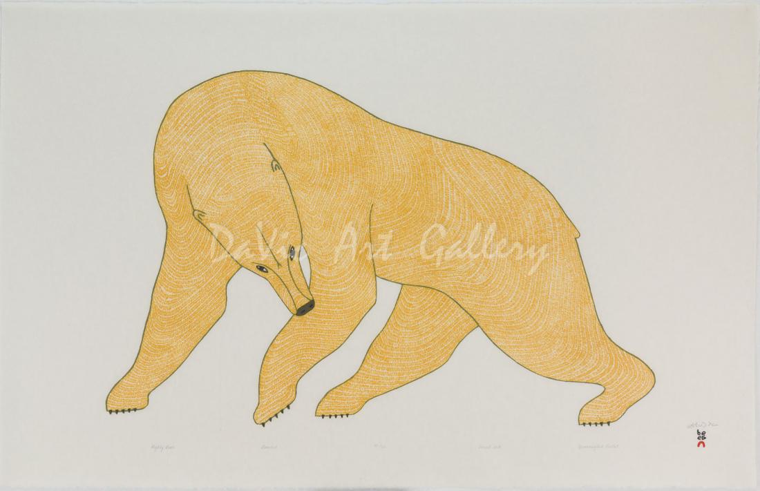 """Mighty Bear"" by Quvianaqtuk Pudlat"