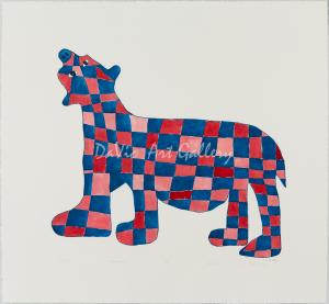 'Checkered Bear' by Saimaiyu Akesuk