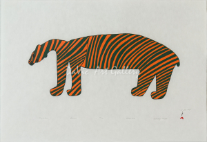 'Striped Bear' by Saimaiyu Akesuk