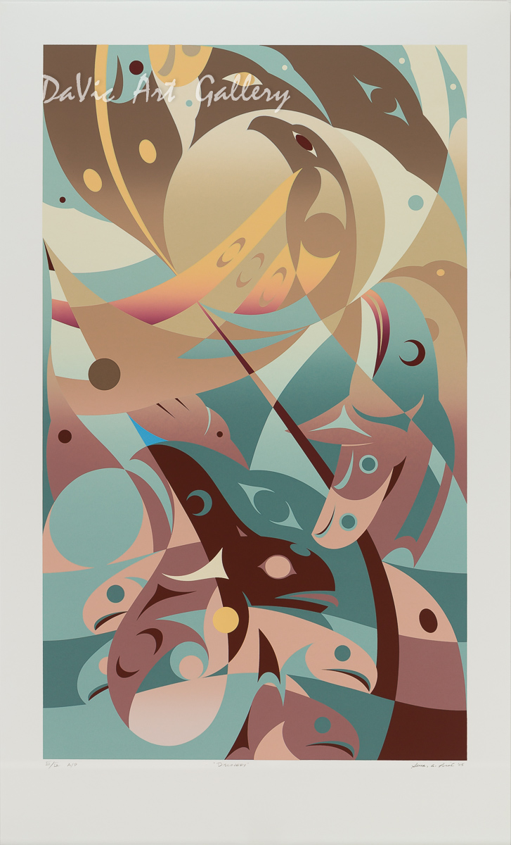 'Discovery' by Susan Point - Northwest Coast Coast Salish Art