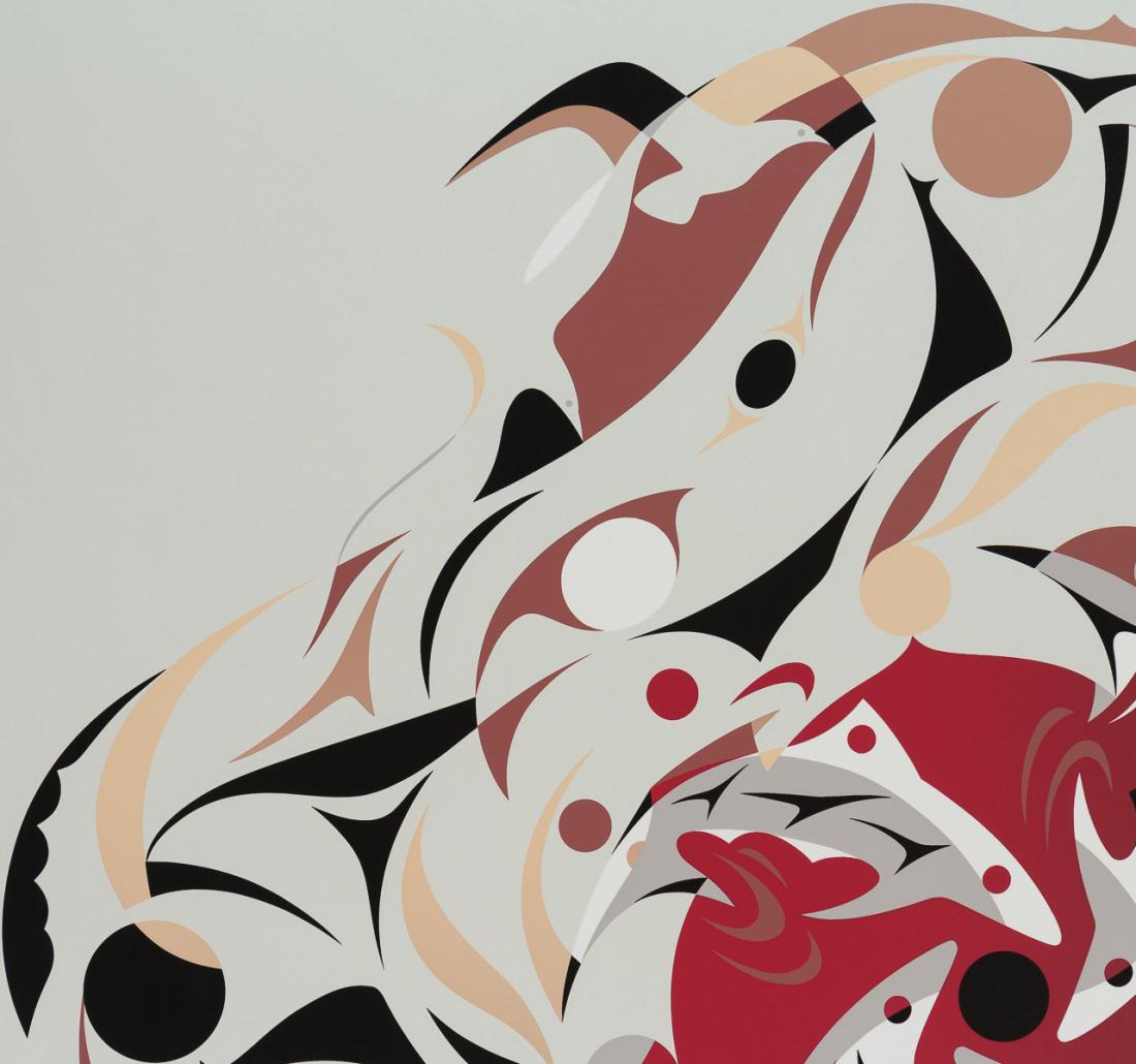 'Vanishing Point' by Susan Point - Northwest Coast Coast Salish Art
