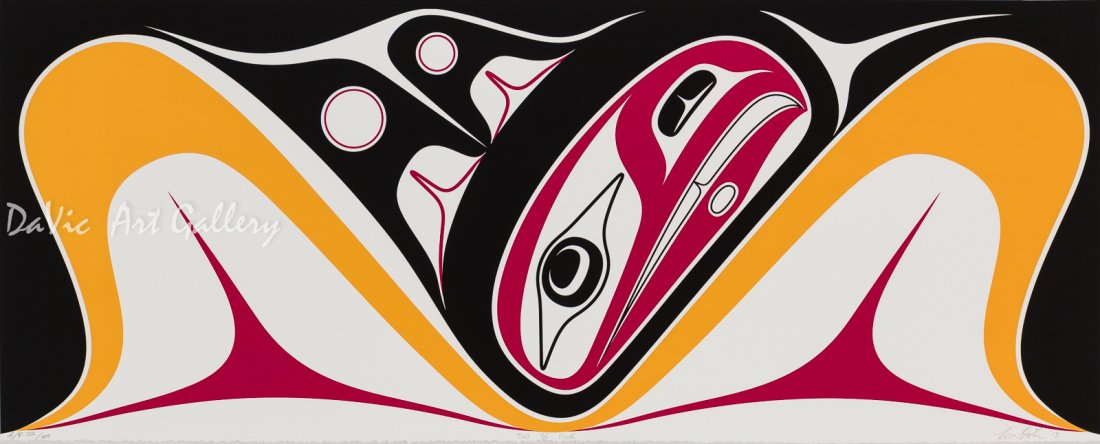 'Two be Four' by Ben Davidson - Northwest Coast Haida Art
