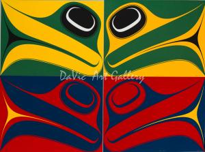 'Greatest Echo' by Ben Davidson - Northwest Coast Haida Art