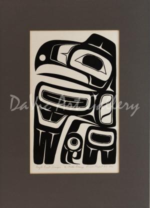 'Eagle Crest Design' by Freda Diesing - Northwest Coast Haida Art