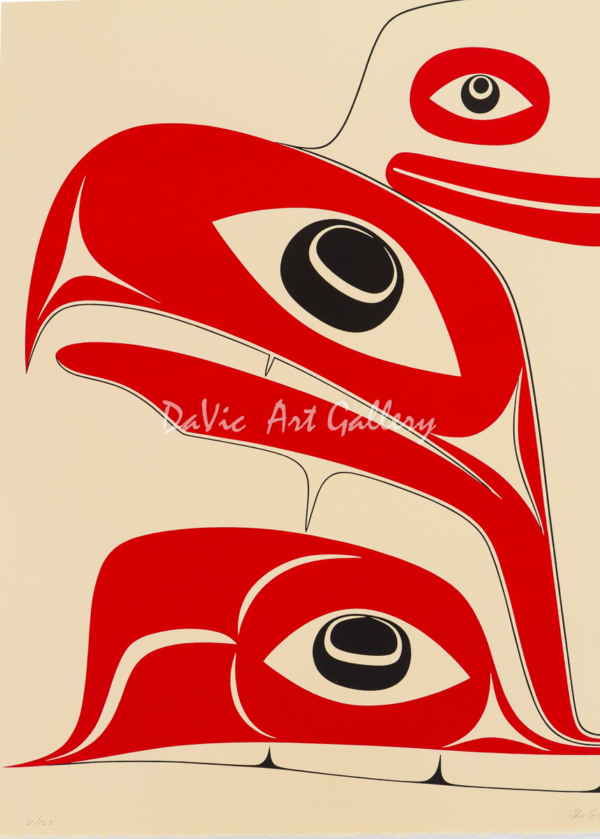 'The Gift' by Robert Davidson - Northwest Coast Haida Art