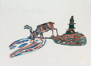 'Life Giving Water' by William Noah - Baker Lake Inuit Art Limited Edition print