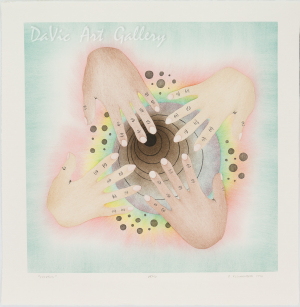 'Creation' by Elsie Klengenberg - Holman Inuit Art Limited Edition print