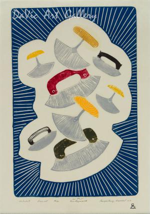 'Ulukuluit' by Eena Angmarlik - Pangnirtung Inuit Art Limited Edition print