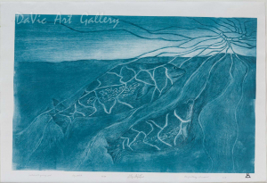 'Mother with Young Seal' by Jolly Atagoyuk - Pangnirtung Inuit Art Limited Edition print