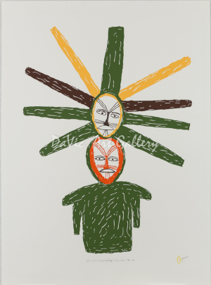 'Sunwoman' by Luke Anguhadluq