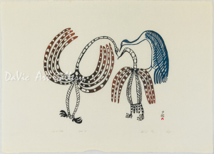 'Talk of Birds' by Lucy Qinnuayuak