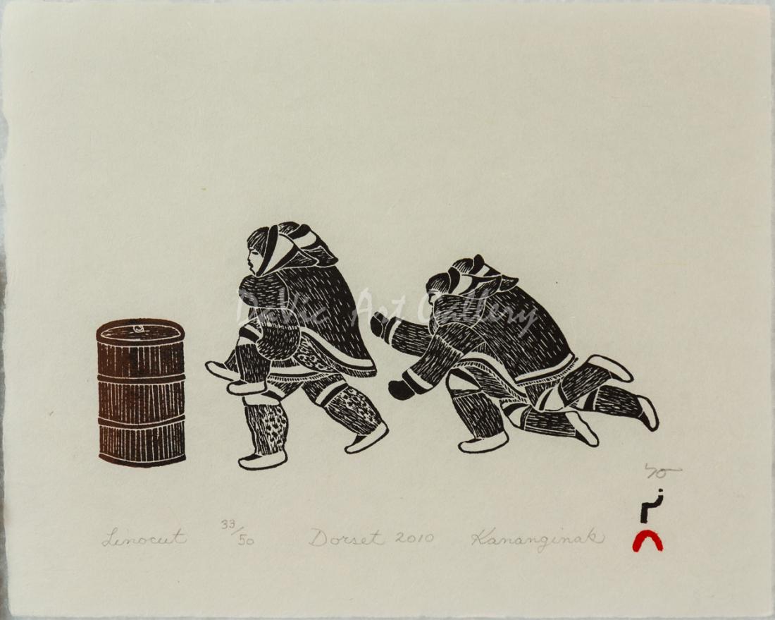 Aulajijakka (Things I Remember) by Kananginak Pootoogook