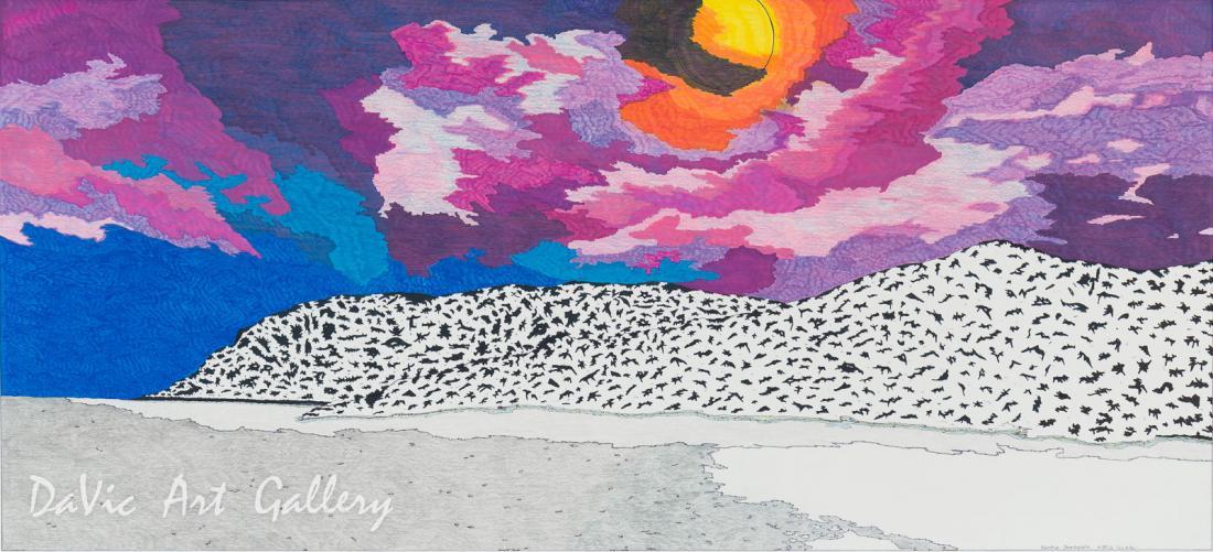Untitled (After the Storm) by Nicotye Samayualie