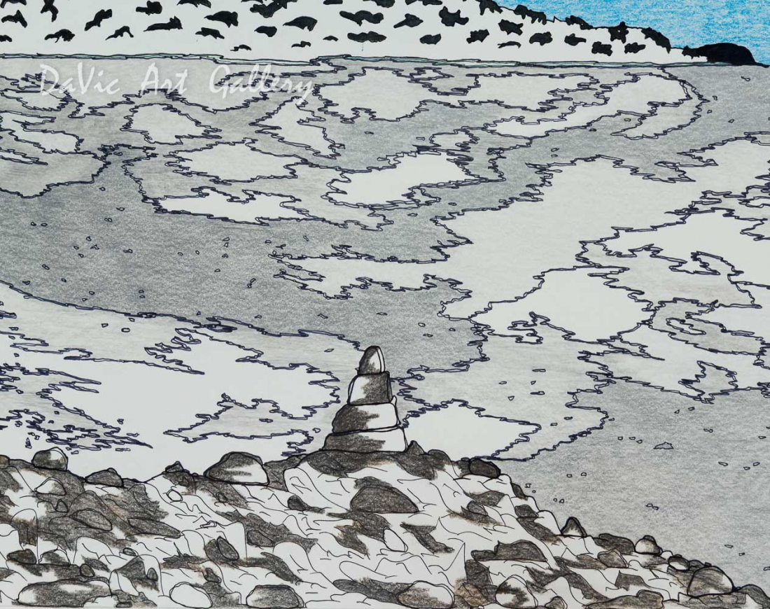 'Out on the Land' by Nicotye Samayualie