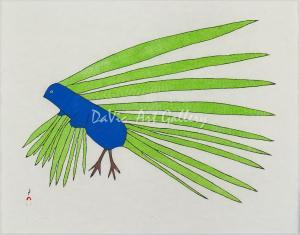 'Green Feathers' by Kakulu Saggiaktok