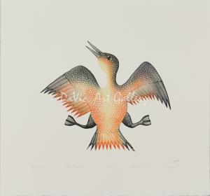 'Jubilant Bird' by Cee Pootoogook