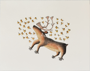 'Summer Buzz' by Cee Pootoogook