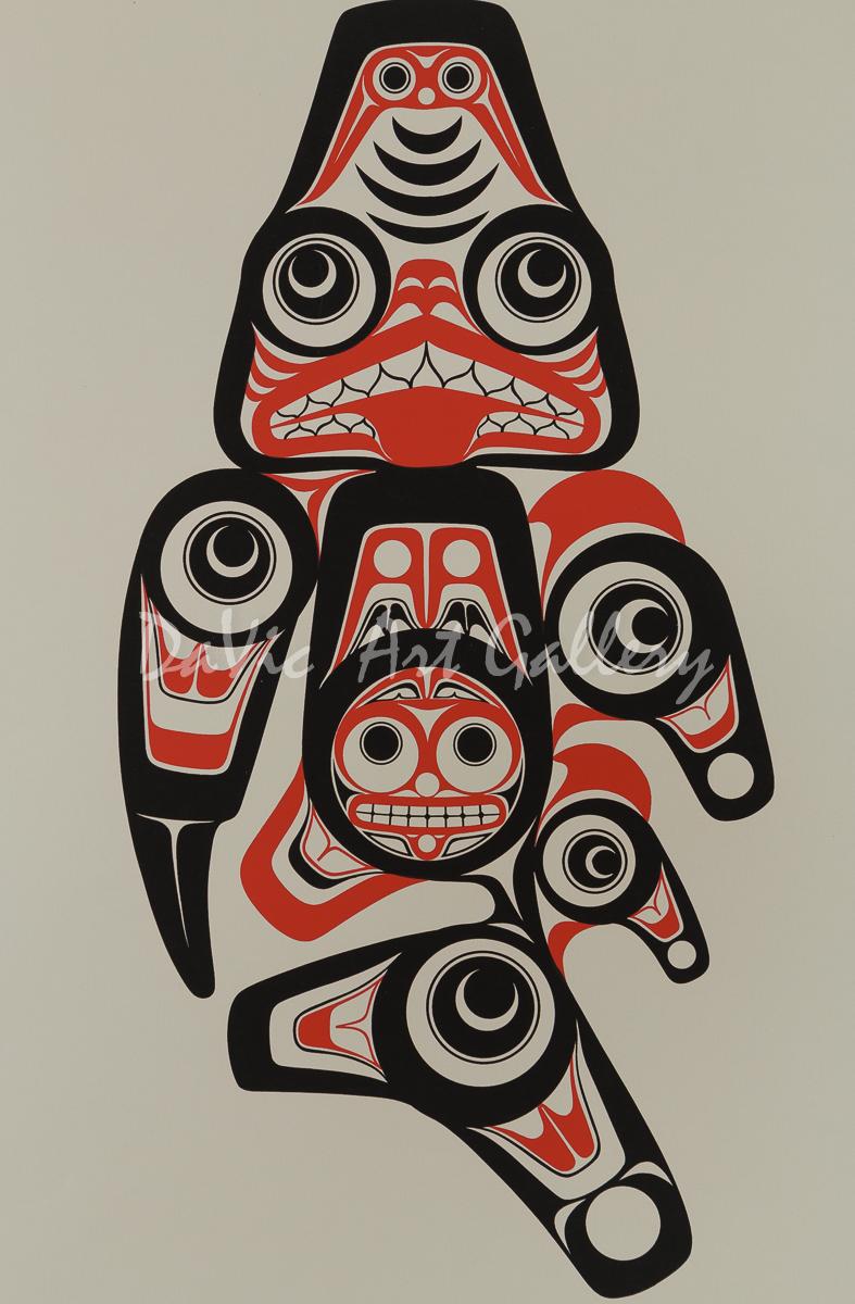 'Haida Dogfish - Xaxada' by Bill Reid