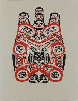 'Haida Grizzly - Huaji' by Bill Reid