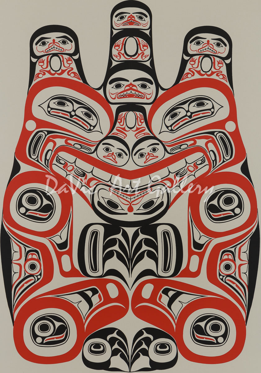 'Haida Grizzly - Huaji' by Bill Reid
