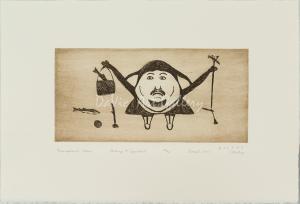 'Triumphant Catch' by Ohotaq Mikkigak